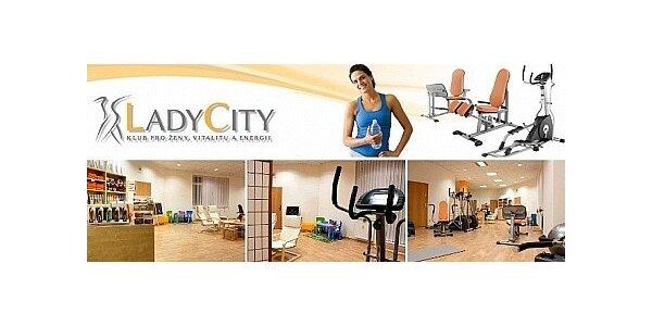 Měsíc neomezeného cvičení pouze pro ženy v Ladycity Olomouc