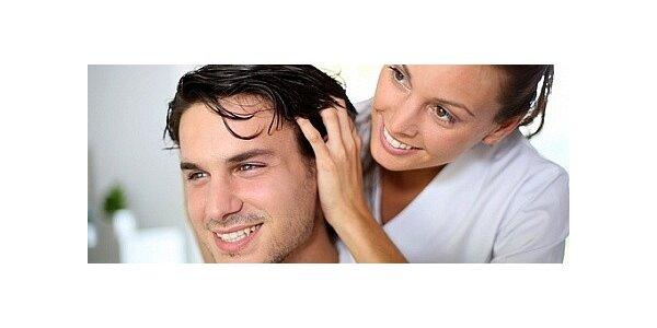 Indická masáž hlavy a protistresová masáž