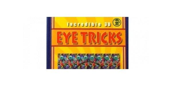 Magická kniha Eye tricks 3D