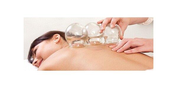 Baňková masáž v délce 30 minut