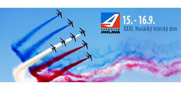 Vstupy na XXIII. Horácký letecký den