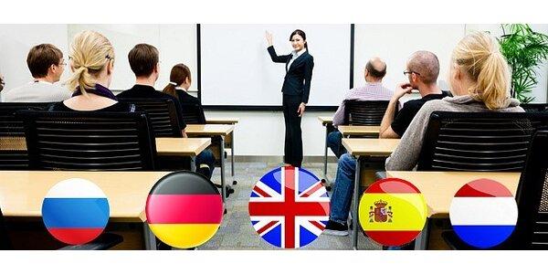Kurzy cizích jazyků i konverzace s rodilým mluvčím