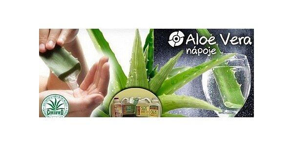 2 litry přírodní Aloe Vera šťávy natural, 99,8% ALOE
