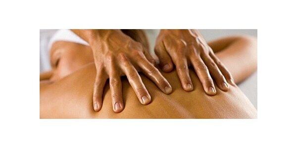Ulevující Dornova terapie zakončená Breussovou masáží