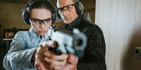 Dobrodružství na střelnici: až 20 různých zbraní