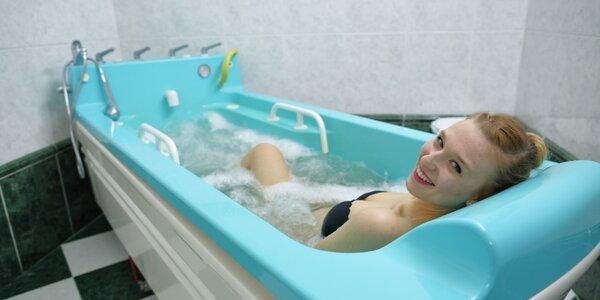 Léčebná jodová koupel solanka: 1-3 vstupy