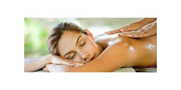 60 minutová masáž dle vlastního výběru