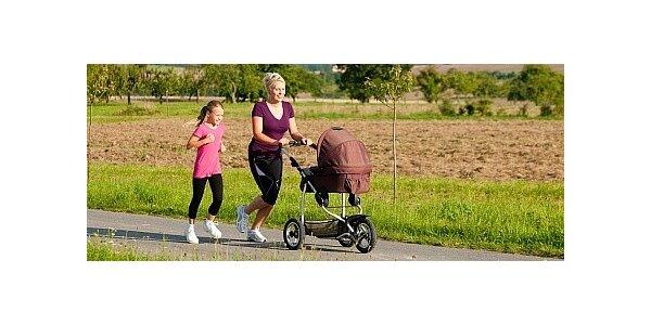 2 hodiny Strolleringu v Říčanech - aktivní pohyb pro maminky na mateřské