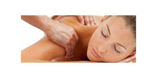 Klasická masáž zad a krční páteře v délce 45 minut