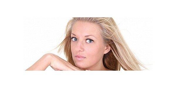 Kosmetické ošetření pleti včetně masáže obličeje, krku a dekoltu