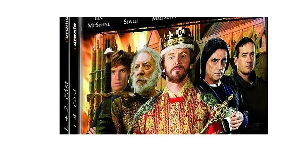 Pilíře Země 4 DVD box + Vražda Jindřicha IV.