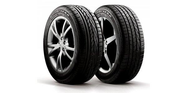 Kompletní přezutí pneumatik včetně vyvážení plus kontrola brzd a podvozku zdarma