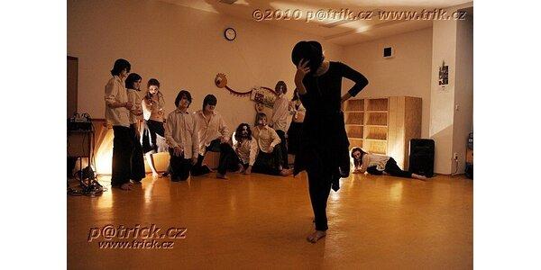 Taneční improvizace pro maminky - s hlídáním dětí během hodiny - otevřená lekce