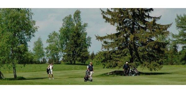 Dva dny nonstop golfu pro 2 v resortu Kořenec u Boskovic na Jižní Moravě, které…