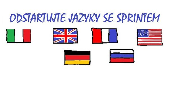 Odstartujte cizí jazyky se SPRINTEM – 12 lekcí (po 90 minutách)