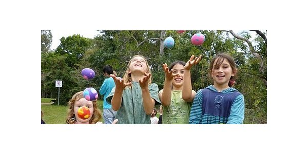 Kroužek žonglování pro děti