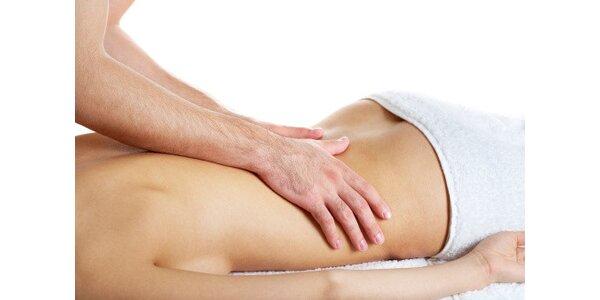 Celostní masáž se zaměřením na čínskou medicínu v délce 60 minut