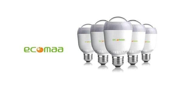 Nejkvalitnější LED žárovku ECOMAA 13W s aktivním chlazením LED chipu