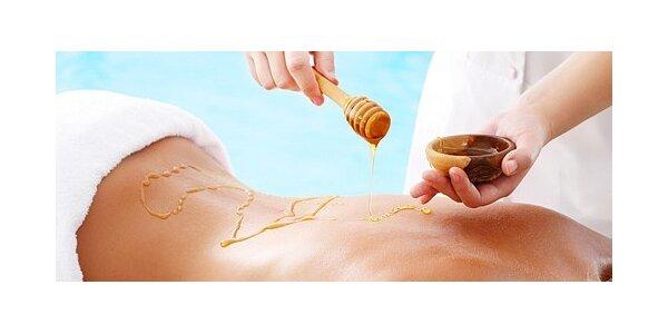 Jarní detoxikace - medová masáž s okurkovým zábalem