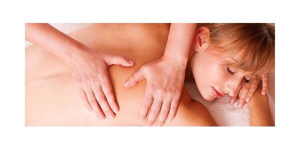 Celková masáž v délce 90 minut přímo v centru Prahy