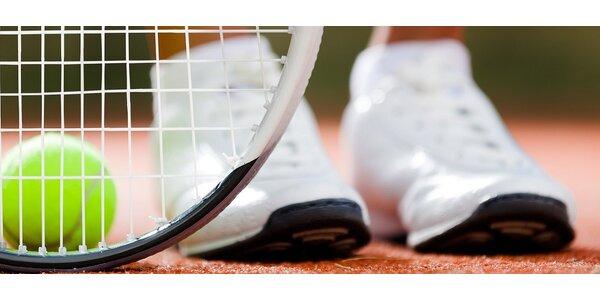 Dvouhodinový pronájem tenisového kurtu