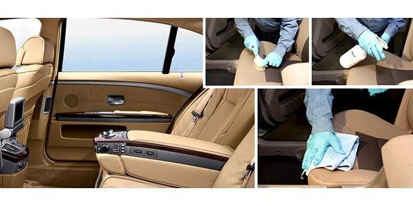 Vyčištění interiéru vozu plus příprava na zimu v Eco One.