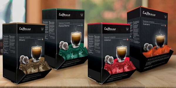 Kávové kapsle Cafesso i do kávovarů Nespresso