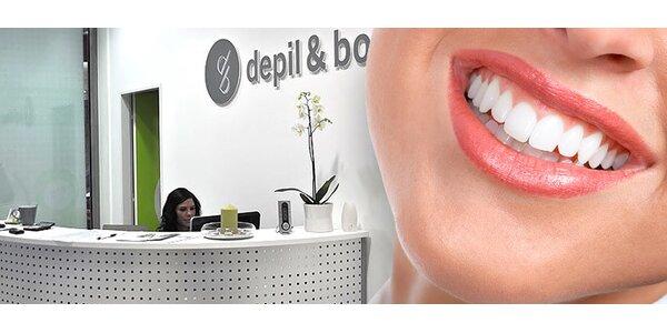 Krásné bílé zuby. Nejúčinnější a okamžité fotobělení v Ostravě!
