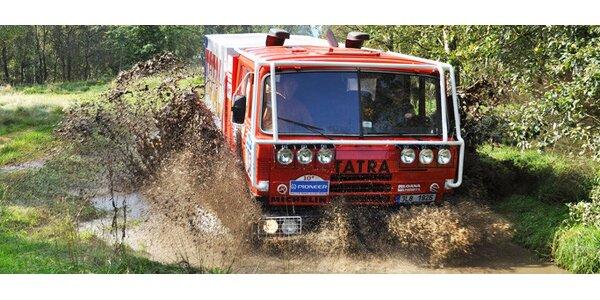 Adrenalinová projížďka v Tatra Dakar T 815 8x8.