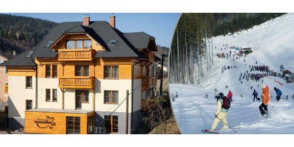 3denní lyžařský pobyt v Kysuckých Beskydech pro ČTYŘI