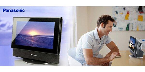 Mikrosystém Panasonic sintegrovaným LCD displejem