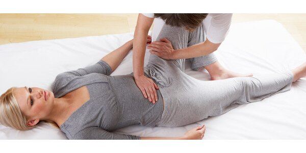Příjemná shiatsu masáž