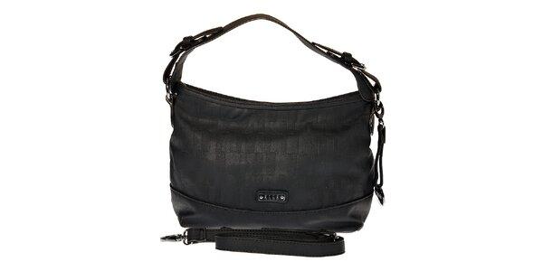 Dámská malá černá hobo kabelka Elle