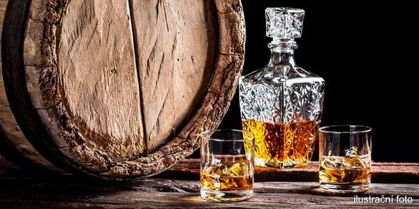 Malá nebo velká ochutnávka rumů i whisky