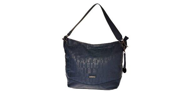 Dámská tmavě modrá hobo kabelka Elle