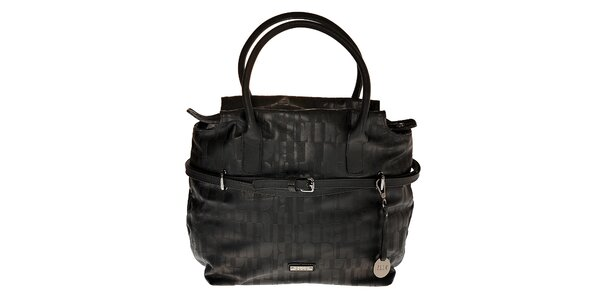 Dámská černá kabelka Elle s úzkým páskem