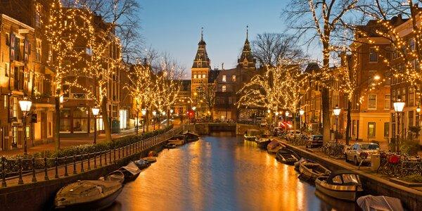 Vánoční Amsterdam: 1 noc se snídaní a návštěva trhů
