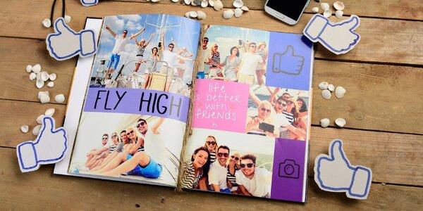 Fotokniha od 28 stran, výběr z více velikostí