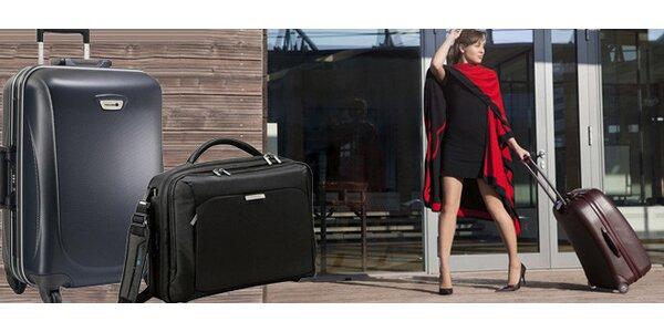 Luxusní kufry a brašny na notebooky Delsey