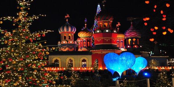 Výlet do vánoční Kodaně: prohlídka města i trhy