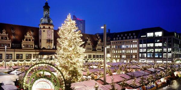 Adventní trhy v Lipsku: 1denní výlet za kouzlem Vánoc