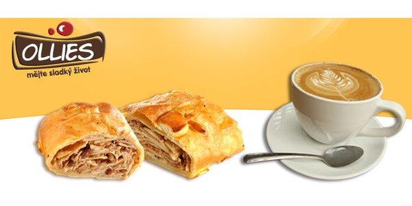 Sladké snídaňové menu PRO DVA v cukrárně Ollies