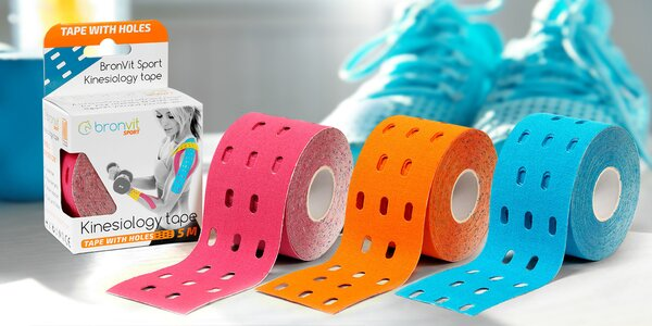 Tejpovací pásky BronVit 5 m x 5 cm: více barev