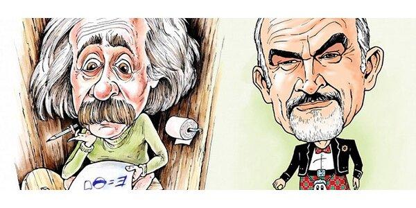 Zhotovení karikatury podle vámi vybrané fotky