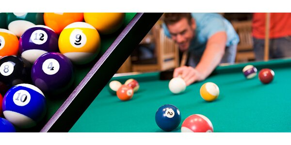 Dvě hodiny kulečníku, poolu nebo snookeru