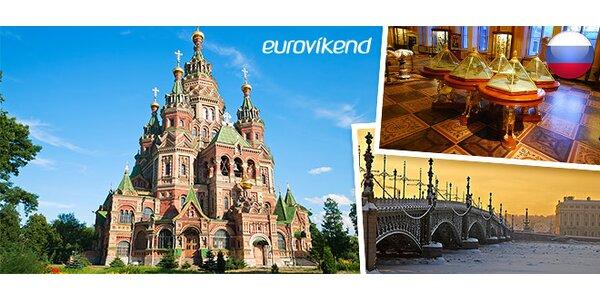 Eurovíkend v Petrohradu včetně letenky a ubytování