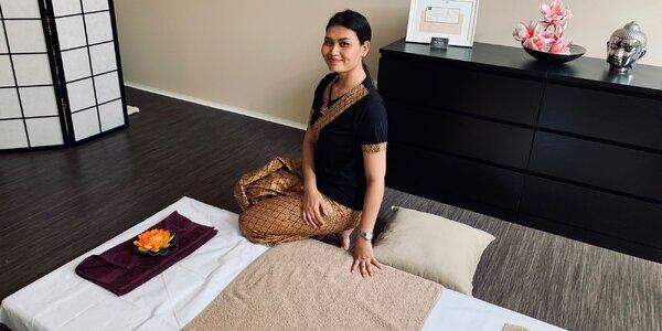 Tradiční thajská masáž: 60-120 minut
