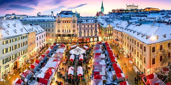 Vánoční Bratislava: adventní trhy i památky