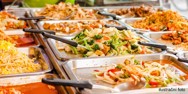 Neomezená konzumace v asijském bistru