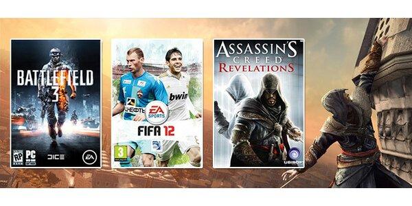 Poukaz na nákup jakýchkoli PC her v hodnotě 500 Kč